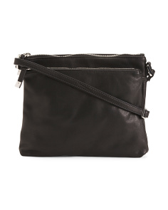 Accordion Leather Crossbody