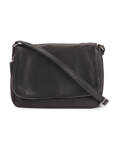 Preston Flap Leather Crossbody