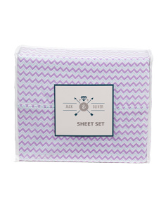 Kids Chevron Sheet Set