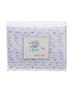 Kids Heart Arrows Sheet Set
