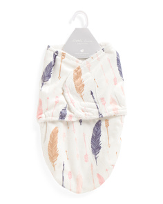 Feathers Baby Swaddle
