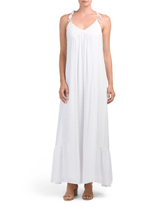 Juniors Gauze Maxi Dress