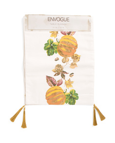 Made In India Pumpkin Table Runner