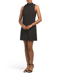 Made In USA Juniors Cut Out Shift Dress