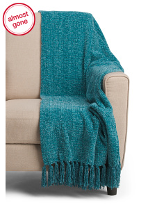 Ruth Chenille Throw