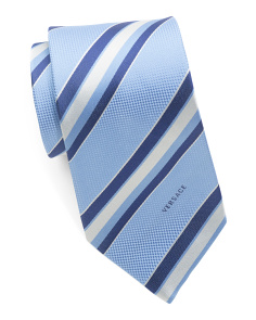 Made In Italy Silk Stripes Tie