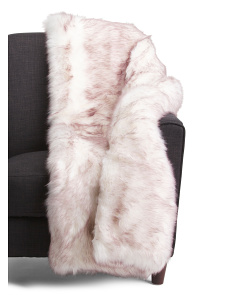 Mckinley Faux Fur Throw