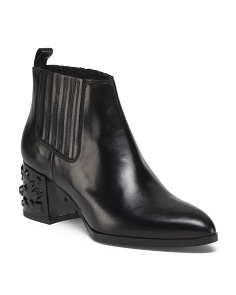 Made In Spain Leather Booties