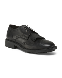 Made In Italy Menswear Leather Oxfords