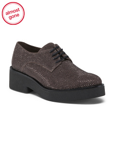 Made In Spain Lace Up Leather Oxfords
