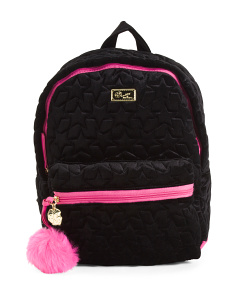 Star Velvet Backpack