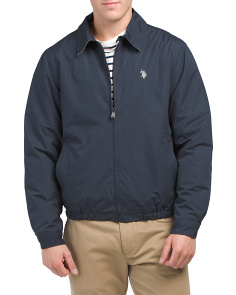 Polar Fleece Lined Golf Jacket