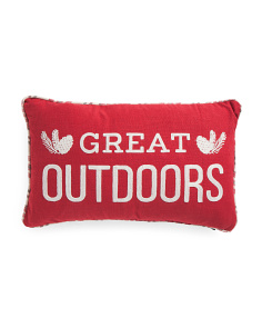 Made In India 12x20 Great Outdoors Pillow