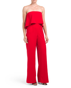 Moore Stretch Crepe Jumpsuit