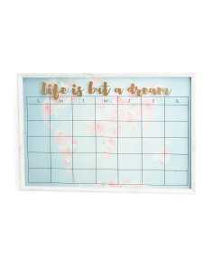 36x24 Floral Map Dry Erase Board