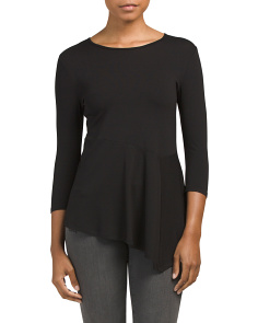 Petite Asymmetrical Panel Top
