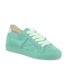 Low Top Suede Fashion Sneakers