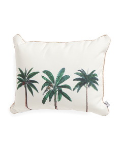 16x20 Indoor Outdoor Palm Tree Pillow