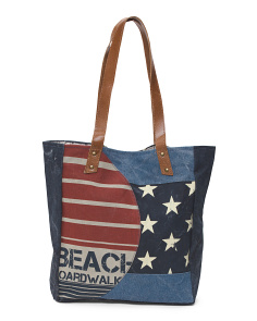 Up Cycled Boardwalk Tote