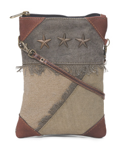 Up Cycled Small Crossbody