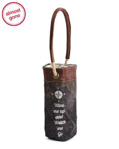 Wine Me Up Wine Bag