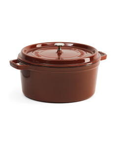 Made In France Round Cast Iron Cocotte