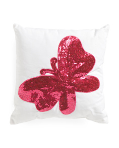 Kids Made In India 16x16 Butterfly Pillow