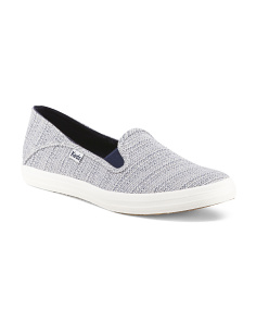Crashback Canvas Slip On Sneakers