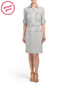 Petite Saint Stripe Dress