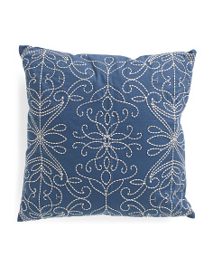 20x20 Chapman Embroidered Pillow