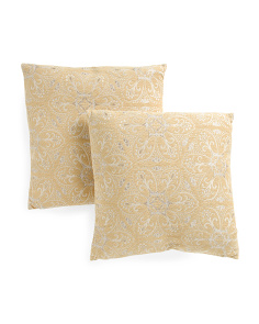 20x20 2pk Parma Pillows