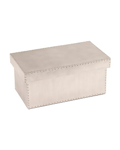 Made In India Medium Metal Storage Bin