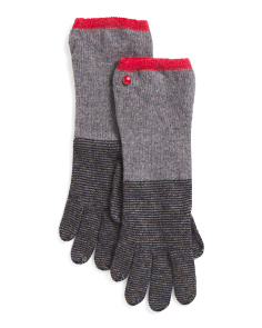Made In Spain Wool Long Gloves