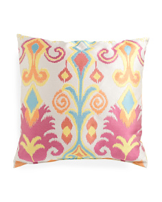 Made In USA 24x24 Vibrant Colors Pillow