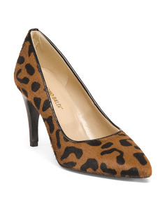 Made In Italy Leo Haircalf High Heel Pumps