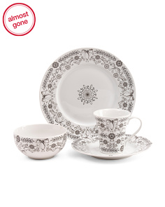 16pc Poetique Dinnerware Set
