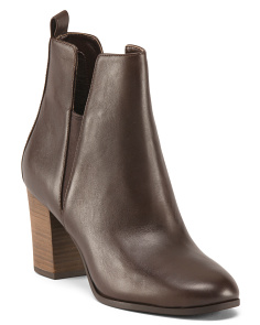 Cassidy Leather Heeled Boots