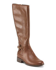 Evren High Shaft Leather Boots