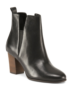 Cassidy Leather Booties