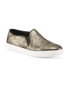 Slip On Suede Fashion Sneakers
