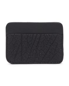 Wallstreet Leather Credit Card Holder