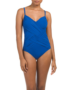 Tummy Control One-piece Swimsuit