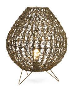 Made In India Wire Weave Table Lamp