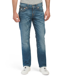 Straight Flap Pocket Jeans
