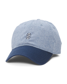 Adjustable Chambray Cap