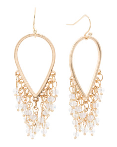Fringe Bead Earrings