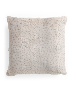 22x22 Oversized Faux Fur Pillow