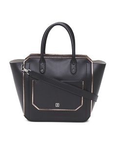 Tribeca Solutions Leather Satchel