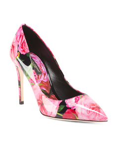 Made In Italy Patent Leather Decollete Pumps
