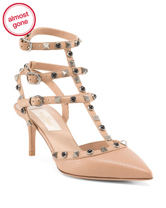 Made In Italy Rockstud Chanel Leather Heels